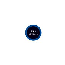 Záplata ZS 2 na opravu duší - priemer 25 mm