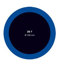Záplata ZS 7 na opravu duší - priemer 100 mm