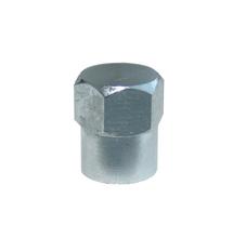 Čiapočka ventilu kovová CT chrómovaná