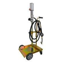 Pojazdná olejová výdajná súprava pre sudy 20 - 60 kg