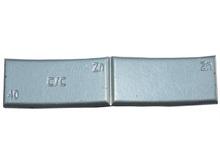 Zinkové samolepiace závažie ZNC 40g - šedý lak