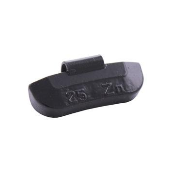 Vyvažovacie závažia (Zn) ASTA 25 g - BLACK - 1