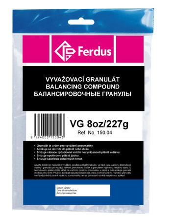 Vyvažovací granulát (prášok) VG 8oz/227 g