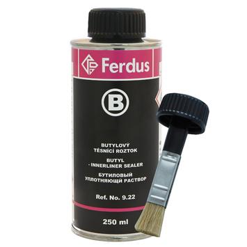 Butylový tesniaci roztok B 250 ml + väčší štetec