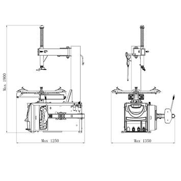 Vyzúvačka LC890U 230V - 2