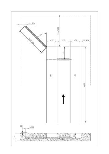 Nožnicový zdvihák pre geometriu SF-H4000 - 2