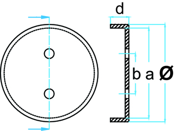 Gumová podložka zdviháka 120x32 mm - 3