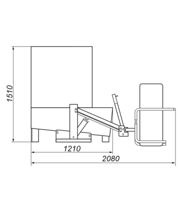 Umývačka kolies WULKAN COMBO Q - 4