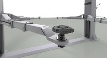 Adaptér pre zdvíhanie áut modelu Tesla 3 - stredná veľkosť - 6